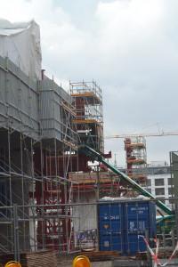Arnulfsteg im Bau