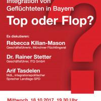 Top oder Flop - Integration von Geflüchteten in Bayern